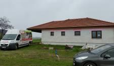 Izolace stropu bungalovu Dobré Pole